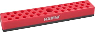 KAIFNT K701 Hex Bit Organizer with Magnetic Base, 1/4-Inch Bit and Bit Adapter, 37-Hole