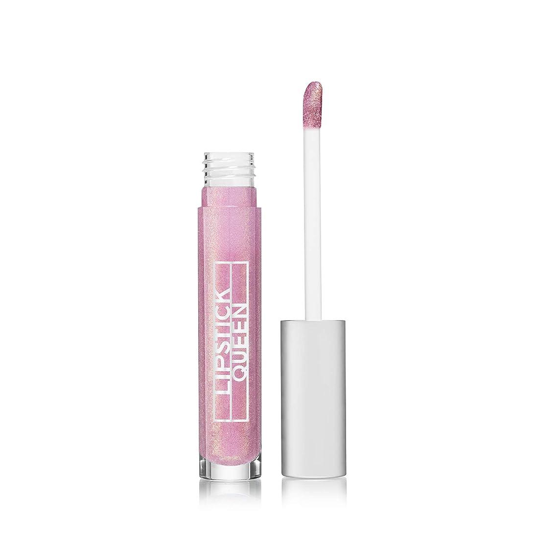 海外モニカ異常Lipstick Queen Altered Universe Lip Gloss - Asteroid-Pale Shimmer Pink with Gold