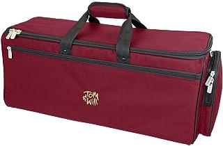 Tom y voluntad 26dtp-359combinación Trompeta Gig Bag, color granate