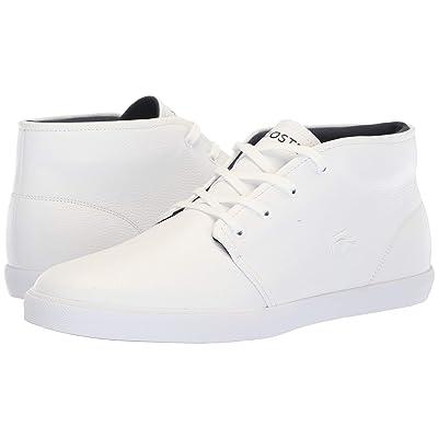 Lacoste Asparta 318 1 P (White/White) Men