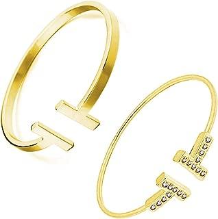 tiffany t square bracelet gold