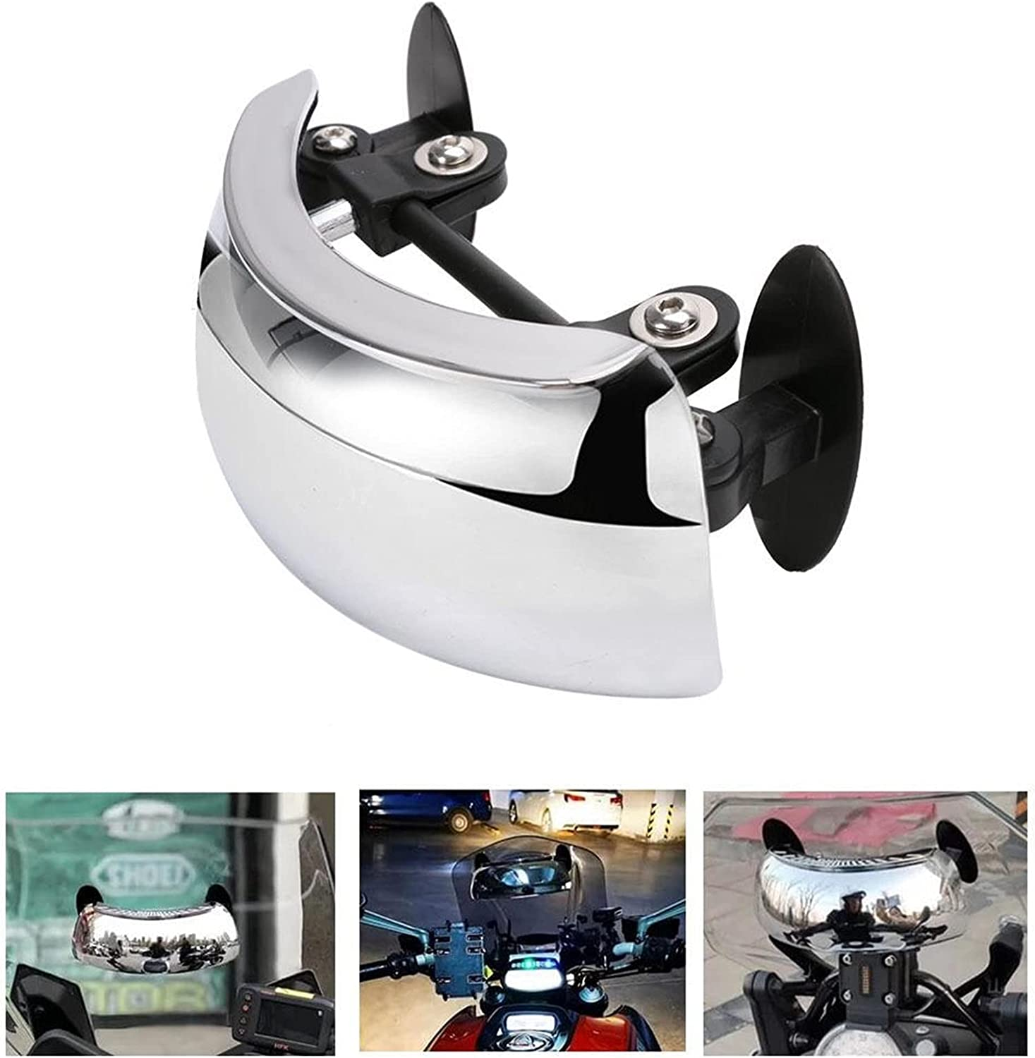 QWERASD Motorcycle Rearview Mirrors Max Super popular specialty store 65% OFF 180 View Degree Safety Rear