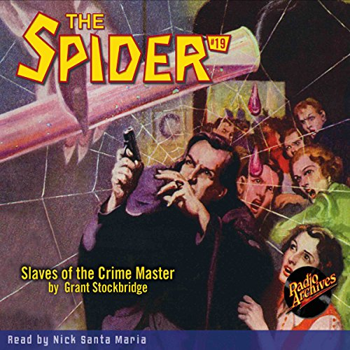 The Spider #19 audiobook cover art