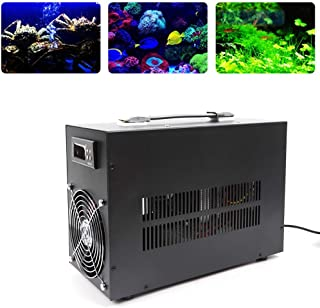TFCFL Aquarium Fish Tank Mini Electronic Water Chiller Water Cooler Cooling up to 60L Electronic Refrigeration Inline Chiller US Stock