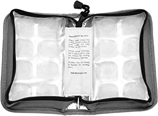 FlexiFreeze Pocketbook Breastmilk Cooler, Gray