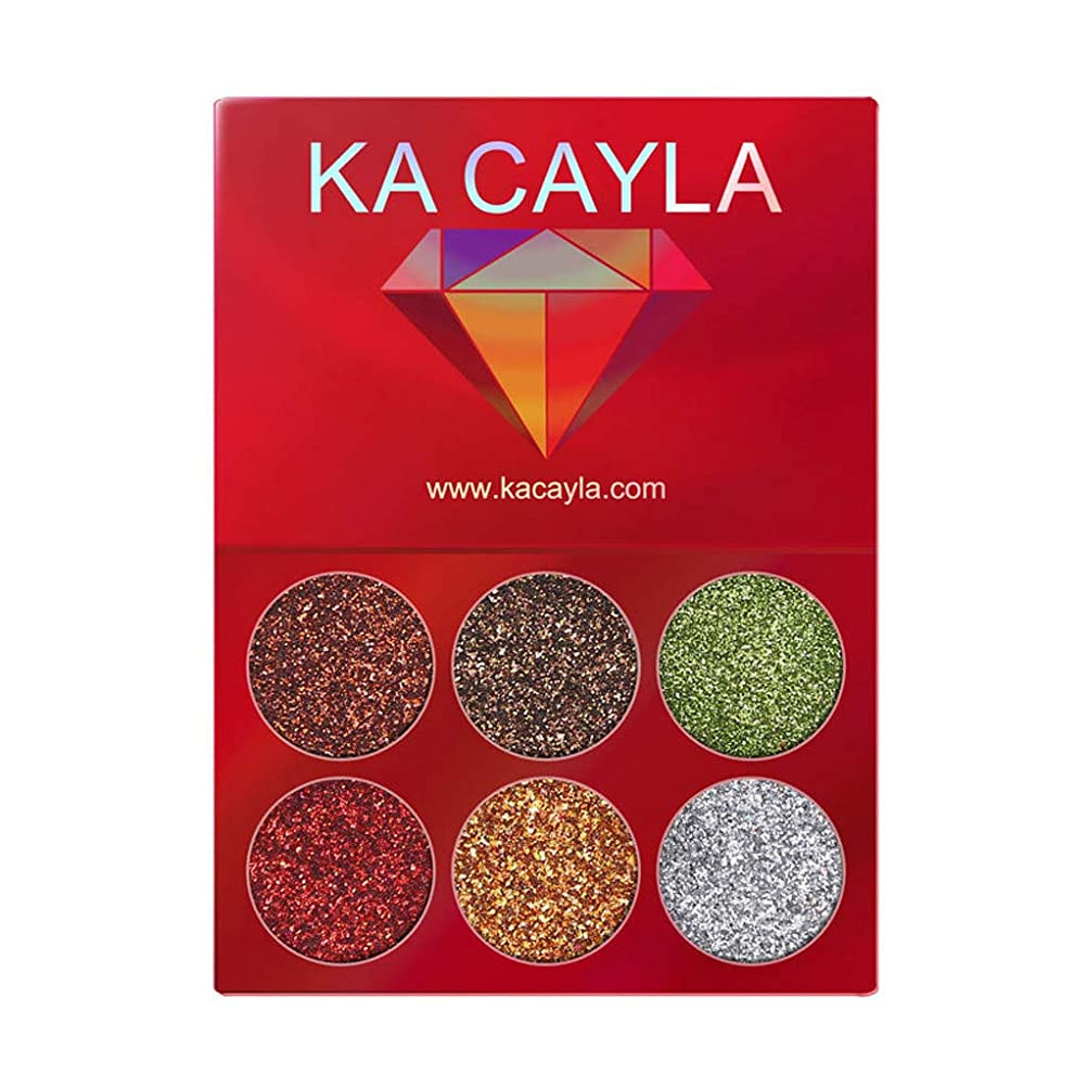 変換本部ファックスKA CAYLA化粧アイシャドウアイシャドウパレット化粧品セットアイシャドウ6色