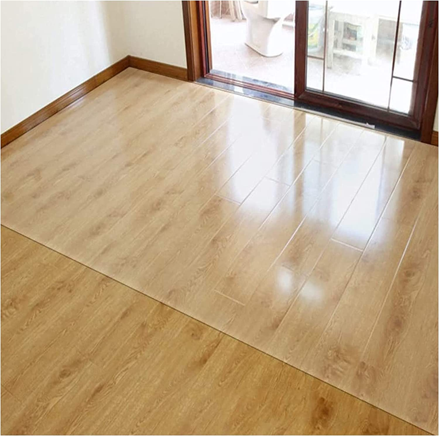 Cheap mail order shopping GUOTIAN Clear Chair Mat High quality new PVC Hard Move Protector Smo Chairs Floor