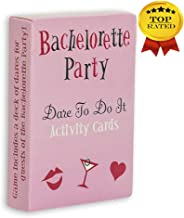Bridal Shower Game Bachelorette - Party Card Game- Bridal Shower Favors- Bridal Supply- Fan Card Game- Word Party Game- Game Night Out Party for Girls- Bridal Shower Question Game.