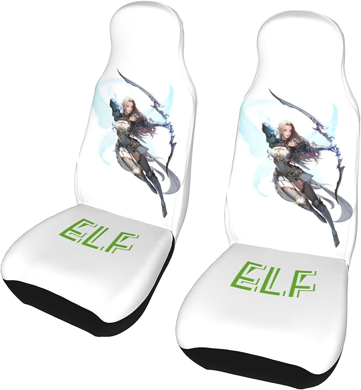 PictetW low-pricing Anime Elf Archer Car Covers Cozy Seat Superior Universal Sear