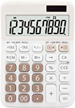 $52 » Electronics Dual Power 10 Digit Display Electronic Calculator Fashion Cute Candy Color Computer Business Office Mute Calcu...