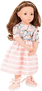 Götz 2066066 Happy Kidz Sophie Doll - 50 cm Multi-Jointed Standing-Doll With Brown Hair And Brown Eyes - Suitable Agegroup 3+