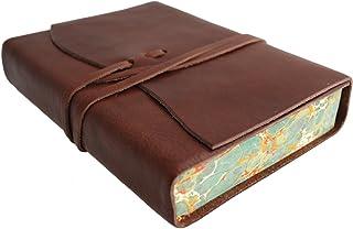 Roma Lussa - Leder Journal Journal Journal Tagebuch - Braun - 12,5 cm x 18 cm B003IX6I9S  Üppiges Design 9f517e