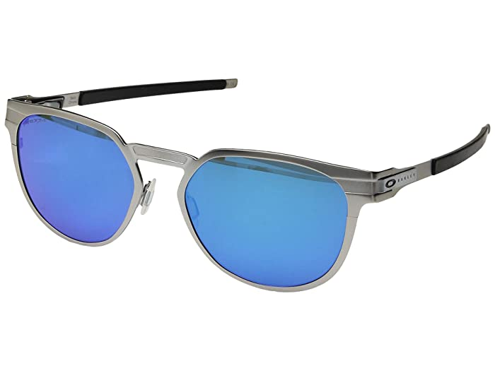 Oakley Diecutter (Satin Chrome/Prizm Sapphire) Sport Sunglasses