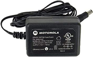 Best UPBRIGHT 12V 0.75A AC/DC Adapter Compatible with Motorola Cable Modem SB5100 SB5120 SB5101 SB5101U MT20-21120-A00F 503913-004 MT20-21120-A04F 503913-007 DTA100 DTA199 DCT700 12.0V 750mA Power Supply Reviews