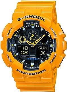 Casio G-Shock Men's Analog-Digital Dial Resin Band Watch - GA100A-9A