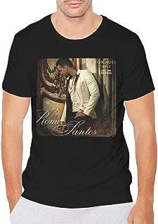 Romeo Santos Mens Short Sleeve T Shirts Black