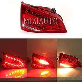 MZORANGE Inner Tail Light Lamp For Audi A4/S4 B8 2008 2009 2010 2011 2012 Stop Brake Indicator Warning Light with Bulb