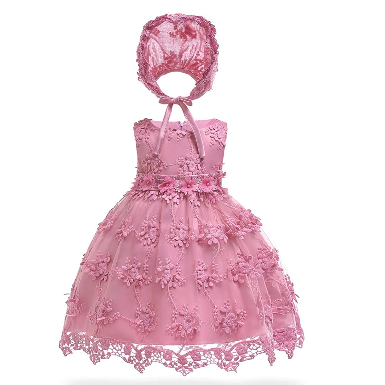 (BaQi Trade)ベビー 赤ちゃん ガールズドレス 女の子ワンピース 100days 子供ドレス キッズ 新生児フラワーガールズ