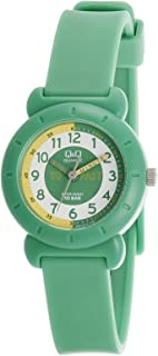 Q&Q Kids Multi Color Dial Silicone Band Watch - VP81J013Y