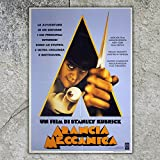 Großes Kino Poster A Clockwork Orange - Maße: 100 x 140