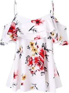 OrchidAmor Women Lace Tops Tie Short Sleeve Tops Blouse T Shirt Tee