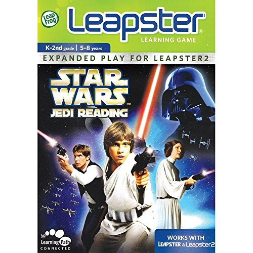LeapFrog Leapster Learning Game Star Wars Jedi Reading