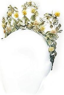 """Silver Linings"" Custom Headband & Crown"
