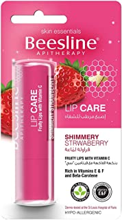 Beesline Lip Care Shimmery Strawberry 4g