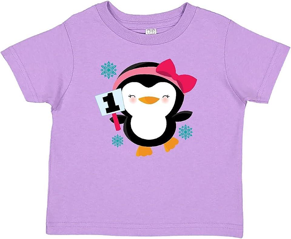 1st Birthday Penguin Baby T-Shirt