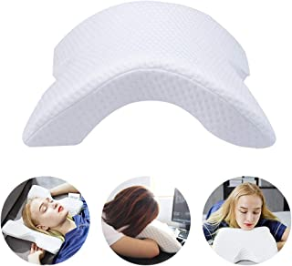 BRTTHYE Almohada de Espuma de Memoria Almohada de Mano Anti presión Protección del Cuello Rebote Lento Almohada de Cama multifunción Almohada de Pareja