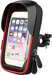 Bolsa para teléfono móvil para bicicleta, soporte para tel