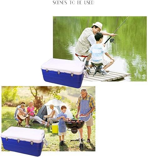 MU Réfrigérateur de Voiture sur roulettes 180L Portable Perforhommece, Boîte de Boissons réfrigérantes, Boissons Alimentaires, Camping, isolé du Sac réfrigérant, Boîte de Transport de bière