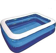 "Skynet Jumbo Deluxe Rectangular Inflatable Family Swimming Pool 2m (79"")"