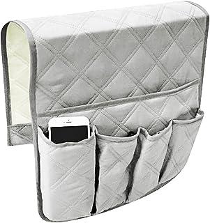 Reposabrazos sofá sede Titulaire Sofa silla Caddy silla cama estable bolsa de almacenamiento almacenaje suspendida reposabrazos con bolsillos para mando a distancia TV Teléfono iPad libro revistas