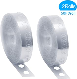 Balloon Arch Garland Decorating Strip Kit - 2Rolls(50Ft/roll) - Making Arch Garland Steamer for Wedding Birthday Baby Shower Party Decorations(Upgraded Version)