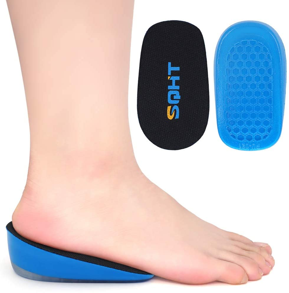 SQHT's Height Increase Seasonal Wrap Introduction Insoles - Gel Heel Inserts Max 61% OFF Lift Shoe Pa