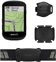 Garmin Edge 530 Sensor Bundle, Performance GPS Cycling/Bike Computer with Mapping, Dynamic Performance Monitoring and Popu...
