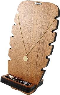 منظم مجوهرات دانسك من جيفور حامل مجوهرات الأناناس. حامل عرض خشبي. الماهوغاني.