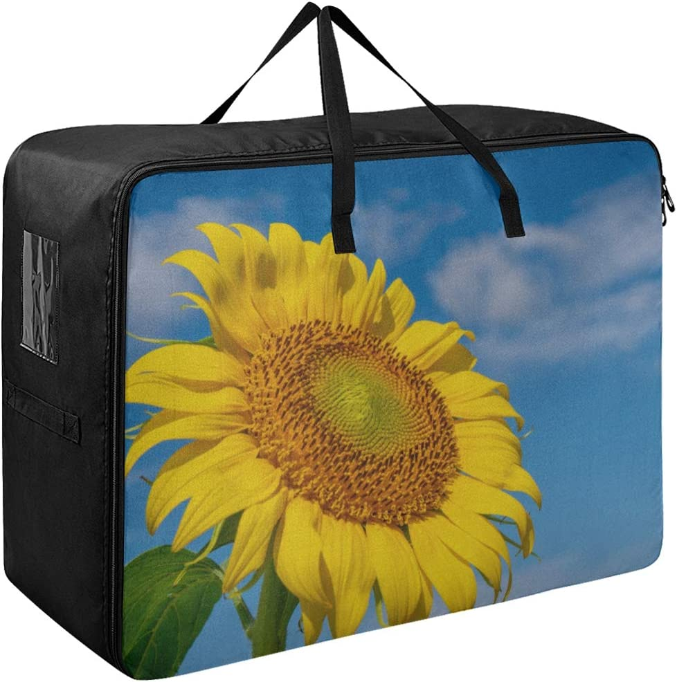 Liaosax Luggage Garment Bag Brightly Wo Sunflower Ranking TOP17 Colored Yellow Some reservation