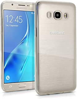 REY Funda Carcasa Gel Transparente para Samsung Galaxy J5 2016, Ultra Fina 0,33mm, Silicona TPU de Alta Resistencia y Flexibilidad