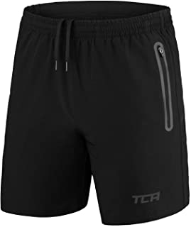Men's Elite Tech Lightweight Running or Gym Training Shorts with Zip Pockets