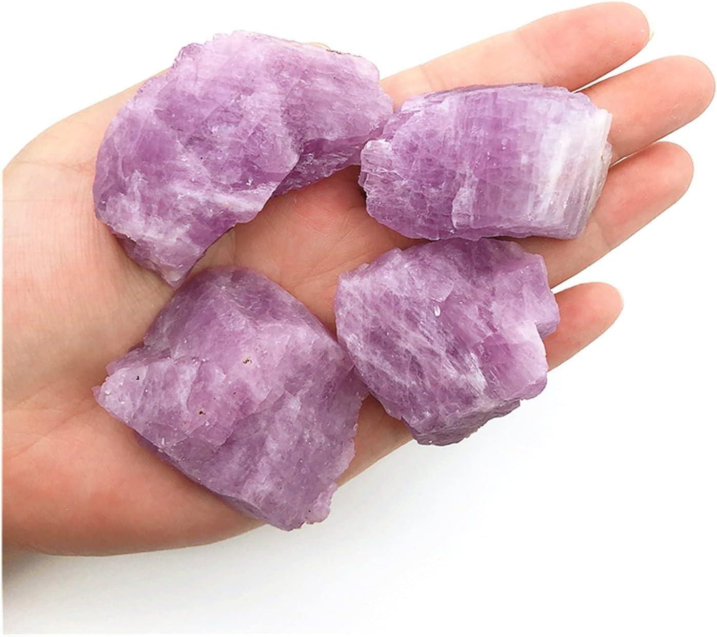 Max 73% OFF DMYONGLIAN Natural Stone Colorado Springs Mall Beautiful Spodumen Color Purple