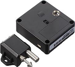 DOITOOL Elektronisch kabinetslot met USB-kabel Smart Ladeslot Verborgen voor Office Home Houten Kast Ladekast (Zwart)