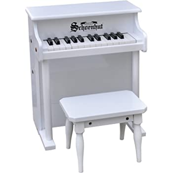 37 Key Day Care Durable with Bench Schoenhut 3798M Mahog