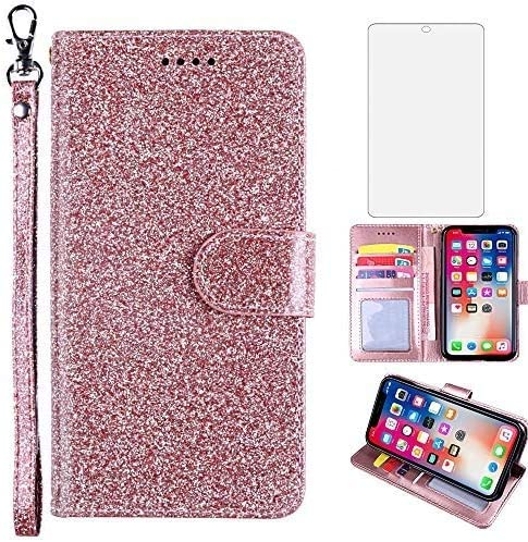 Glitter Wallet Phone Case for Samsung Tempere 4G A51 with Galaxy Max 50% OFF In stock