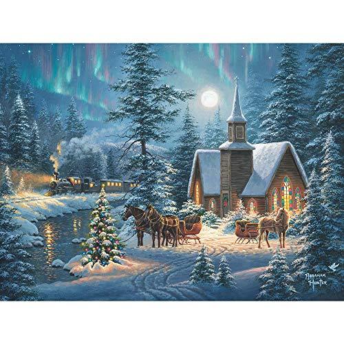 1000 piece puzzles winter - 2