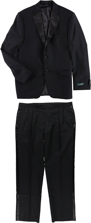 Ralph Lauren Super 130's Wool Tuxedo - 48 Long Black