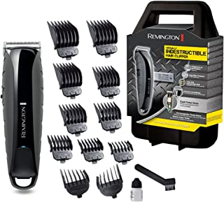 Remington Tondeuse Virtually Indestructible HC5880, Krachtige Tondeuse, Snoer/ Snoerloos, 120 Minuten, 4 uur Oplaadtijd, 1...