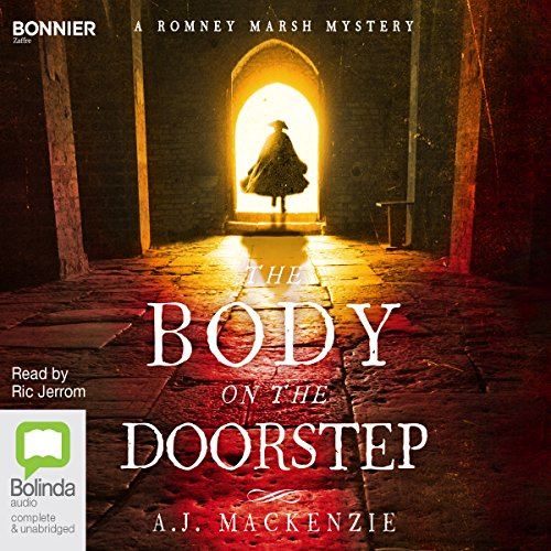 The Body on the Doorstep audiobook cover art