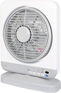 ゼピール(ZEPEAL) フルリモコン式ボックス扇風機 ホワイト DBF-J230I-WH